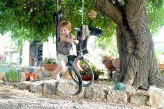 upcyclish: Horse swing tire