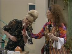 Eddie and Patsy from AB FAB