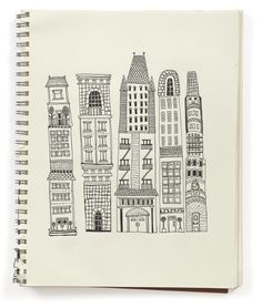 sketchbook from illustrator Julia Rothman