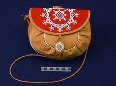 Bag. Sami. Beadwork motif.