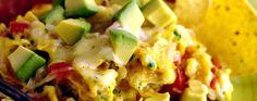 Avocado Tortilla and Egg Scramble