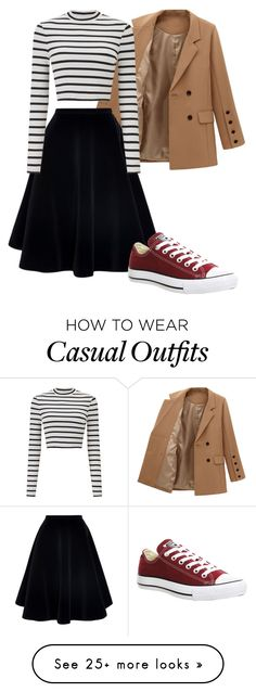 """""""Casual"""" by atenney3 on Polyvore featuring N°21, Converse and Miss Selfridge"""