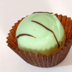 Copycat Fannie May Mint Chocolate Meltaways