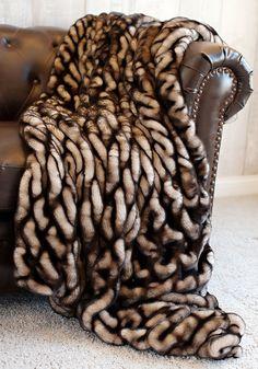 8f29463296c4 Designer Fur Fashion Fur Fur Throw Fur Blanket Throw Blanket Faux Fur Mink  www.InStyle