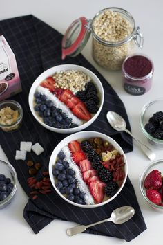 rezept: vegane smoothie bowl