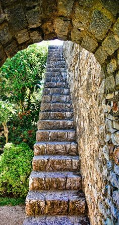 Stairs in Tavira Municipality, Faro, Portugal Stairway To Heaven, Take The Stairs, Stair Steps, Pathways, Stairways, Beautiful Places, Scenery, Castle, Around The Worlds