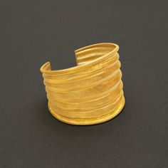 Archaic Cuff - Hilat 24K gold