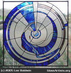 vortex crop circle stained glass