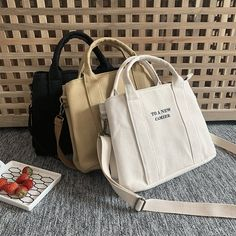 Your place to buy and sell all things handmade, , Fashion Bags, Fashion Backpack, Sacs Design, Accesorios Casual, Designer Totes, Girls Bags, Cute Bags, Canvas Tote Bags, Purses And Bags