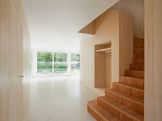 Interior of Huggenbergerfries Haus B in Obwalden, 2010.