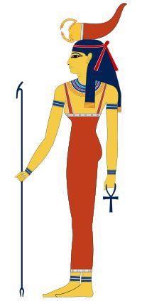 Serket, deusa escorpião.
