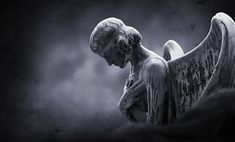 Free Image on Pixabay - Angel, Gloomy, Moon, Background Free Pictures, Free Photos, Free Images, Yuri, Photo Café, Graven Images, Brochure Inspiration, Sombre, Angels And Demons