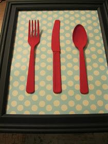 The House on Adams Drive: Kitchy Kitchen Art