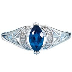 Sapphire is September's birthstone and is a symbol of sincerity and faithfulness. Sterling silver open work design ring with marquise shaped 3/4 carat simulated Sapphire center stone. Open design on outside of the sapphire has 3 CZs on either side. Regularly $59.99, buy Avon Jewelry online at http://eseagren.avonrepresentative.com