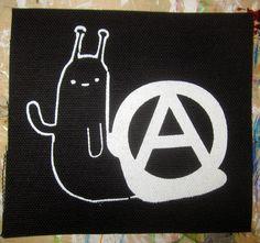 Patch: Anarchy Snail – Silver Sprocket