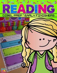 Dibels Prep & Early Finishers:  Reading Fluency