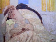 Misia assise dans une bergère, dit Nonchaloir, oil on canvas, 1901 Edouard Vuillard, Renoir, Andre Derain, Spanish Painters, Art Moderne, Muse, Female Art, Something To Do, Illustration