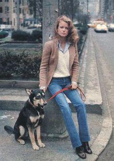 Model Shelley Hack in 1978.
