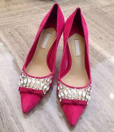 L Luxury Womens Party Stiletto Heels Pump Slip On Pointy Toe Rhinestone Shoes Sz