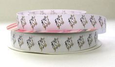 7/8 Horse Print Grosgrain Ribbon by RibbonStation on Etsy