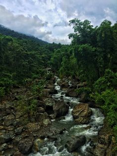 Waterfall, Pu Luong