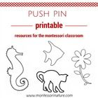 This pin poking printable is idea for the Montessori classroom to develop concentration and fine motor. This printable contains 20 outlines of pict...