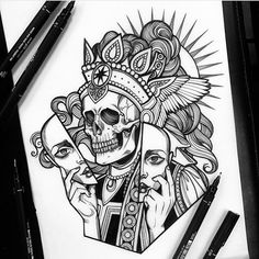 Tattoo Design Drawings, Tattoo Sketches, Tattoo Designs, Yogi Tattoo, Tattoo Set, Dibujos Tattoo, Desenho Tattoo, Grimes Artwork, Black Tattoos