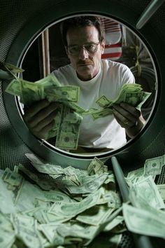 """Cuando era niña, yo creía que cuando en las noticias hablaban de """"lavado de dinero"""", se referían a esto --->"""