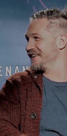Tom Hardy laughing gif - December 2015