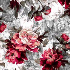 Red Flowers Standart License : 50$ Online Prints & Patterns #womens #kidswear #fashion #fashionable #mans #pattern #print #design #moda #trend #newyork #london #fashionweek #premiervision #istanbul #style #moscow #flowers #wepattern #surfacedesign, #flowers