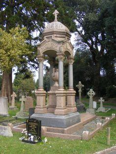 Wimborne Road Cemetery 4 by LadyxBoleyn on deviantART