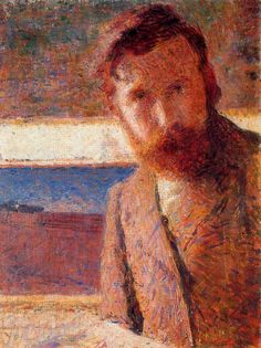 "Giacomo Balla (1871, Torino - 1958, Roma), ""Autoritratto"" / ""Self-Portrait"", 1902, Olio su tela / Oil on canvas, 59 x 43 cm, Banca d'Italia, Roma"