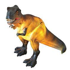 What On Earth T-Rex Dinosaur Lamp - Tyrannosaurus Rex Accent Table Light - x - Green - in. x 9 in. Die Dinos Baby, Dinosaur Bedroom, Dinosaur Gifts, Resin Table, Tyrannosaurus Rex, Camping Activities, Jurassic Park, Light Table, T Rex