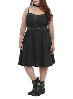 Tripp Sweetheart Belted Dress Plus Size Dress Outfits, Cute Outfits, Fashion Outfits, Plus Size Dresses, Plus Size Outfits, Plus Size Steampunk, Plus Size Girls, Steampunk Clothing, Belted Dress