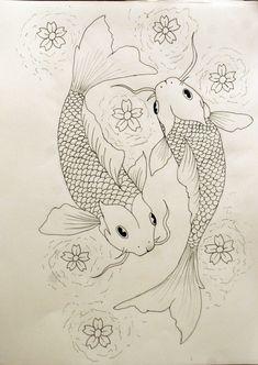 Cuenta una leyenda japonesa que los peces koi -carpas- nadaban contra corriente intentando subir una cascada del río sin conseguirlo. Hasta que uno de ellos lo logró, y los dioses lo convirtieron en un dragón dorado, premiando su valor y su esfuerzo.