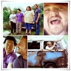 """Hurley: Look, I don't know about you, but things have really sucked for me lately, and I could really use a victory. So let's get one, dude! Let's get this car started. Let's look death in the face and say: """"Whatever, man!"""""""