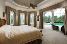 First Floor Offers The Large Master Bedroom And Bath With His And Hers  Custom