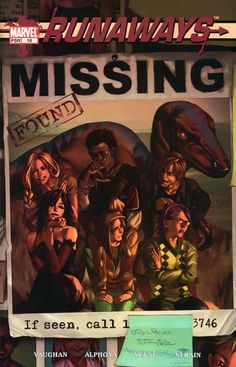 Runaways is one of the best comic series I've read, ever.