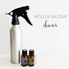 Mold Mildew Cleaner Proportioned Down To Fit In A Spray Bottle Cup Water Vinegar 4 Tsp Rubbing Alcohol 10 Drops Melaleuca 3 Peppermint