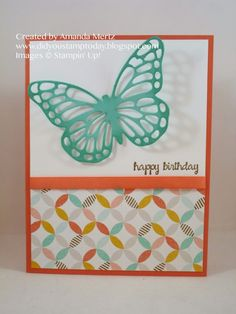 Did You Stamp Today?: Clean and Simple Butterfly