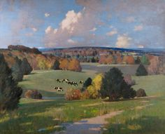 The Athenaeum - Sussex Landscape with Cattle (George Henry, R.A., R.S.A., R.S.W. - )