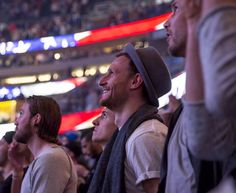 Benni watching The Orlando Magic Basketball game (09/01)