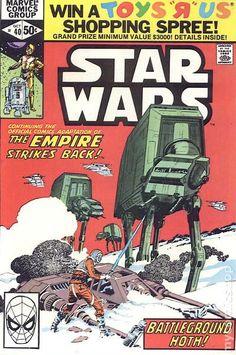 STAR WARS 40, MARVEL COMICS