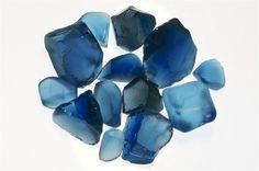 London Blue Topaz Facet Rough - Professional Quality - 125 Carat Lots