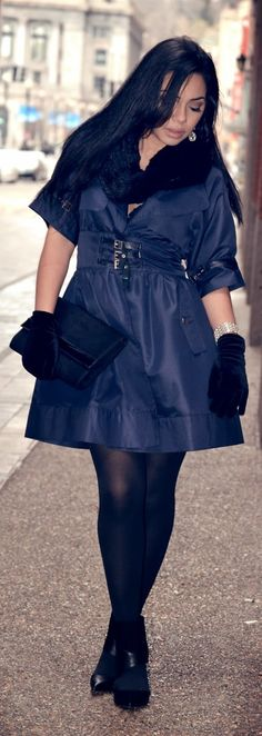 Winter Coat Dress / Alana Marie