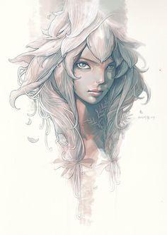 The flower fairy by engkit on @DeviantArt