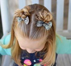 3 Quick and Easy Toddler Hairstyles for Beginners Easy Toddler Hairstyles, Childrens Hairstyles, Baby Girl Hairstyles, Hairstyles For School, Pretty Hairstyles, Braided Hairstyles, Cute Little Girl Hairstyles, Long Hairstyles For Girls, Natural Hairstyles