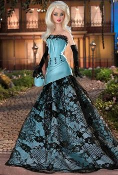 Looking for Collectible Barbie Dolls? Shop the best assortment of rare Barbie dolls and accessories for collectors right now at the official Barbie website! Barbie Gowns, Barbie Dress, Barbie Clothes, Beautiful Barbie Dolls, Chic Chic, Barbie Collector, Barbie World, Barbie And Ken, Barbie Blog