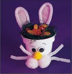 Flower Pot Bunny ~ we have done this one many times..love it!