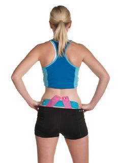 KT Tape can be used to take pressure off of the associated musculature, create additional space by manipulating the fascia, and increase circulation to the area for a sense of pain relief and support.